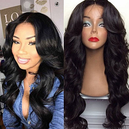 Allwin Long Wave Wigs Women Natural Curly Hair Wigs Synthetic Heat  Resistant Wig   Best Price  3bcc19cd7d