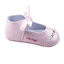 6ae9bfe639cbe bluerdream-Toddler Girl Crib Shoes Sneaker Baby Shoes PK 11-Pink