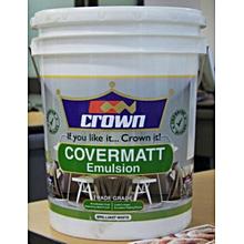Paint Covermatt Emulsion - 4 Litre - White