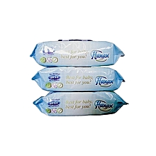 Wet Wipes 72's Value Pack (X3)