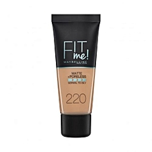 Maybelline Fit Me Matte And Pore less Foundation 30 ml-220 Natural Beige