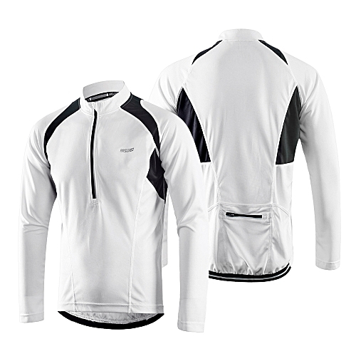 ARSUXEO Arsuxeo Men s Long Sleeve Cycling Jersey Lightweight Breathable  Quick Dry Bike Riding Shirt 2d764d739