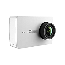 Action Camera YI 4K 2 2.19 Retina Screen Ambarella A9SE75 Sony IMX377 12MP 155° - White
