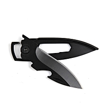 Outdoor Portable Camping Knife Fruit Key Knife Multi-function Utility Knife