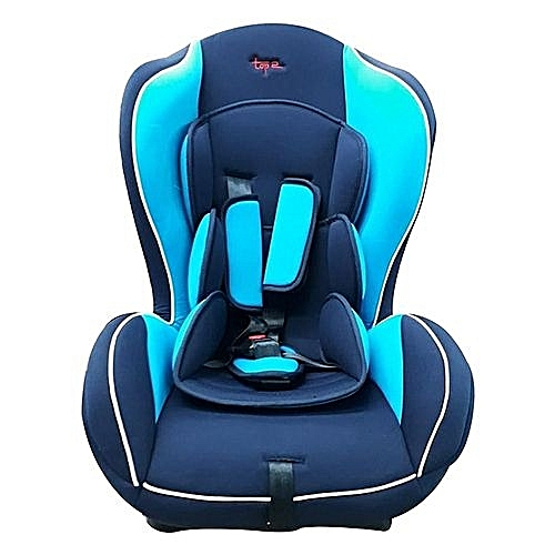 Superior Big Size Reclining Car Seat With A Firm Base Black And Blue 0