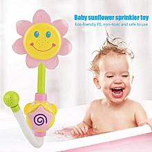 Lovely Sunflower Water Spray Fancy Underwater Suction Ball Children Sprinkler Toys