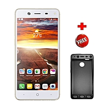 "P15 Lite- 5.5""- 16GB+1GB- 8MP- 4000mAh- Fingerprint- Dual SIM- Golden"