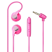 Dazzling Version of Heavy Bass In-ear Mobile Phone Line-controlled Universal Earplug Headphone