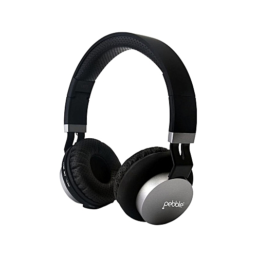 Elite Bluetooth Over-Ear Headphones With Mic - Black & Silver