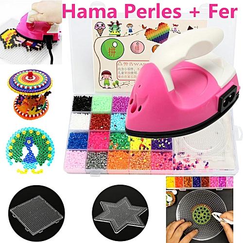 Mini Iron For HAMA /PERLER BEADS Template Kids Handmade DIY Great Funs