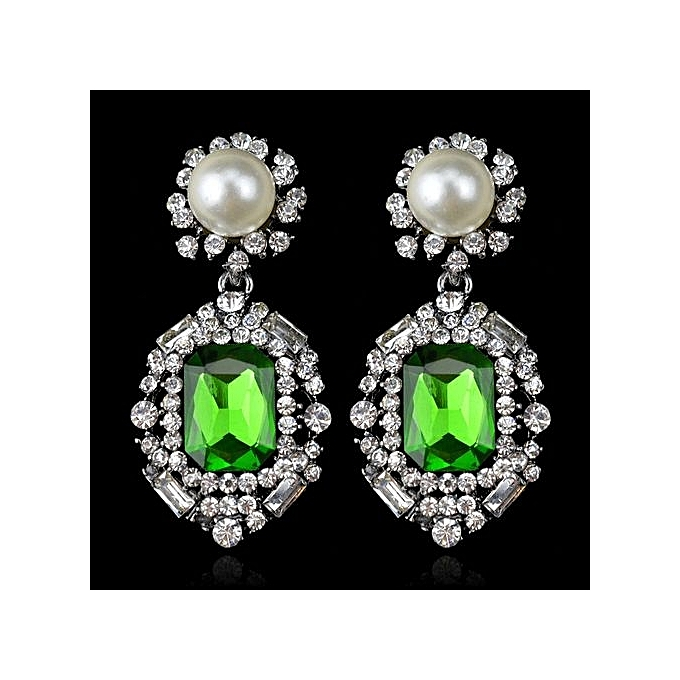 Nice Earrings For Women Shiny Drop Crystal Fashion Lady S Accessories One Pair Stars