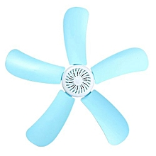 220V 8W Portable 5 Leaves Mini Ceiling Fan With Power Switch Energy Saving Fan