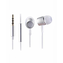 Tdk Supper BASS Earphones- White