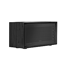 HARMONY: Black Promate Wireless Bluetooth Speaker, Portable Hi-Fi Stereo Speaker with 10W HD Sound Quality, Built-In Mic, FM Radio, Micro SD Card Slot, USB Input and AUX Line-In for iPhone X, Samsung S9 and S9+