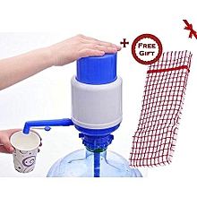 Hand Press Water Dispenser Pump+ a FREE Kitchen Towel