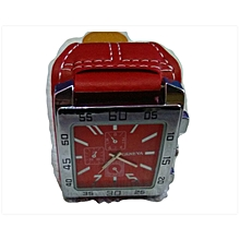 Geneva Watch - Red