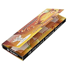 2 Booklets Cigarette Tobacco Rolling Papers 50 Leaves Mango .