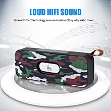 Bluetooth Speaker Portable Rechargeable Wireless Bluetooth V4.2 Speaker Strap Built-in Mic AUX/TF/USB