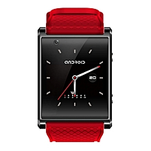 X11 Bluetooth Smart Watch Arc Screen GPS SOS Call Wifi Watch Android 5.1 red & black