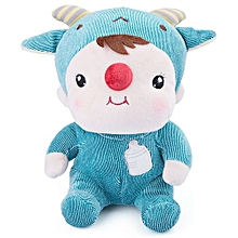 Cartoon Animal Design Babies Plush Toy Doll For Kids Birthday / Christmas Gift