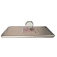 Mobile Phone Stent Ring Holder Stand -Rose Gold
