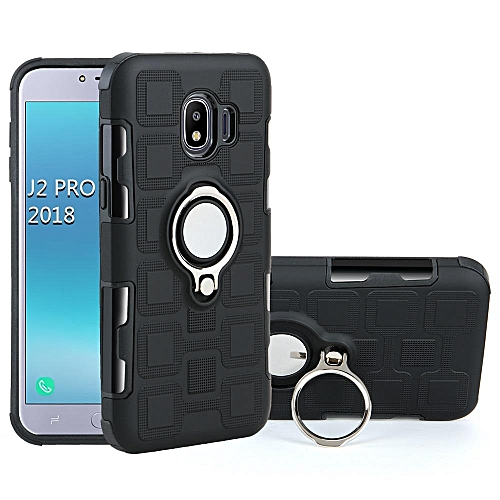 sale retailer 9ee2f b46ca Armor Phone Case Cover With Kickstand For Samsung Galaxy J2 Pro 2018 513770  (Black)