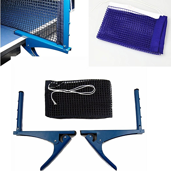 ... Portable Table Tennis Ping Pong Net Post Clamp Stand Holder Mesh Rack Replaces ...