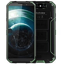 BV9500 4G Phablet 5.7 inch Android 8.1 MT6763T Octa Core 2.5GHz 4GB RAM 64GB ROM 16.0MP Dual Rear Cameras Wireless Charging 10000mAh Built-in Li-ion - MEDIUM FOREST GREEN