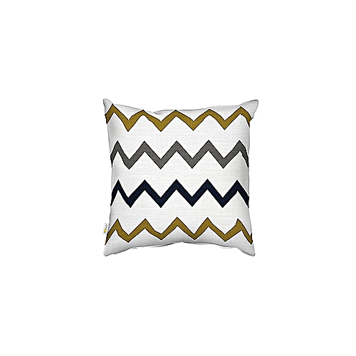 ZIGZAG DECORATIVE PRINT PILLOW CASE  SOFA THROW CUSHION COVER HOME DECOR