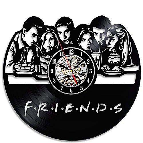 Fotos Cena Navidad Frinsa.Friends Popular Tv Series Vinyl Wall Clock Christmas Gift
