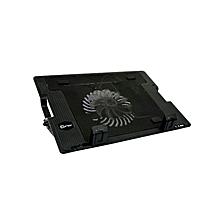 850 - Colourful Laptop Cooler Fan - Black