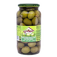 Whole Green Olives in Brine - 907g