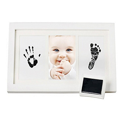 Buy Louis will Baby Handprint Kit By Little Hippo - Newborn Baby ...