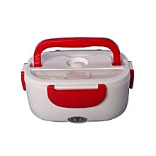 Electric Lunch Box 1.05 Litres - Red & White.