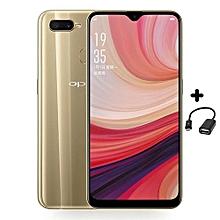 "A7 - 6.2"" - 32GB+3GB RAM - 13MP+16MP - [Dual SIM] 4G - Gold + FREE OTG Cable"
