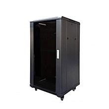 18U 600 x 450 MM Wall Mount Cabinet - Black