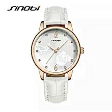 women watch 2016 brand womans luxury watches leather strap fashion quartz watch ladies golden wristwatch relogio feminino
