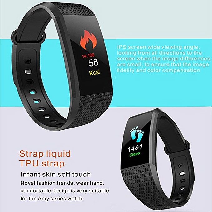 I9 Wristband Blood Pressure Blood Oxygen Monitor Smart Watch Heart Rate  Smart Band Bluetooth Waterproof Fitness Tracker Bracelet For Android And  IOS