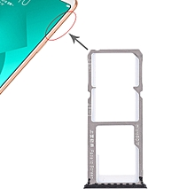 2 x SIM Card Tray + Micro SD Card Tray for OPPO A83(Black)
