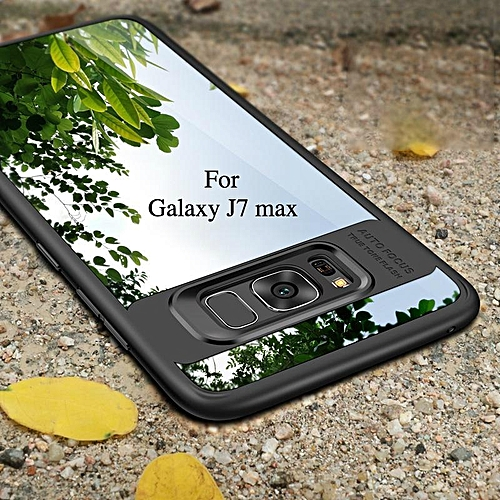 detailed look 9274a 9d253 For Samsung Galaxy J7 Max Case Crystal Clear Back Cases Camera Protection  Hybrid Transparent Ultra-thin Soft Cover For Galaxy J7 Max 265421 c-2 ...