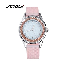 women watch luxury fashion casual rhinestone elegant female quartz watches silicone lady wristwatches relojes mujer
