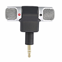 3.5mm Jack Mini Micro phone Stereo Mic For Recording Mobile Phone Studio Interview Microphone For iPhone Laptop