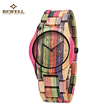 Hypoallergenic Environmental Friendly Wooden Bamboo Watch Immaculate Classy Quartz Analog Unisex Wristwatch