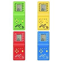HP Kids Electronic Tetris Brick Game Handheld Game Machine LCD Educational Toys Random