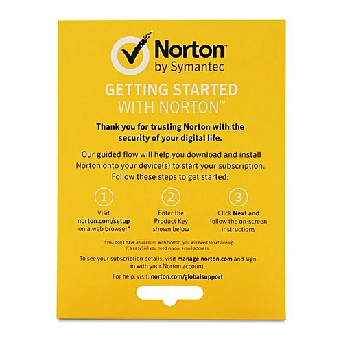 Norton Antivirus Basic