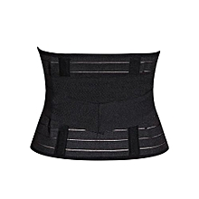 Slimming Tummy Control Belt / Postpartum Girdles - Black