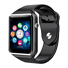 "Smartwatch A1 - 1.54"" - 0.3MP Camera -Black and silver"