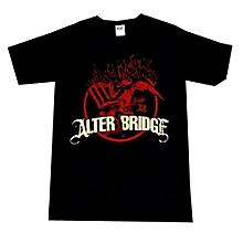 Men's Summer Fashion T-shirts Alter Bridge Flames T-Shirt