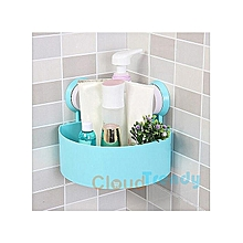 Bathroom Corner Storage Rack Organizer Shower Shelf Suction Cup
