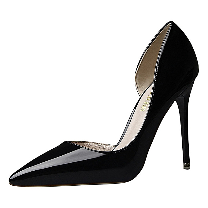 Buy Tauntte 10.5cm Women Thin High Heel Shallow Stiletto Pointed ... 82c82e1735
